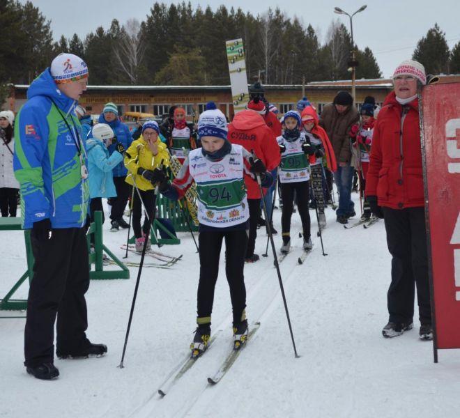 лыжные гонки 1