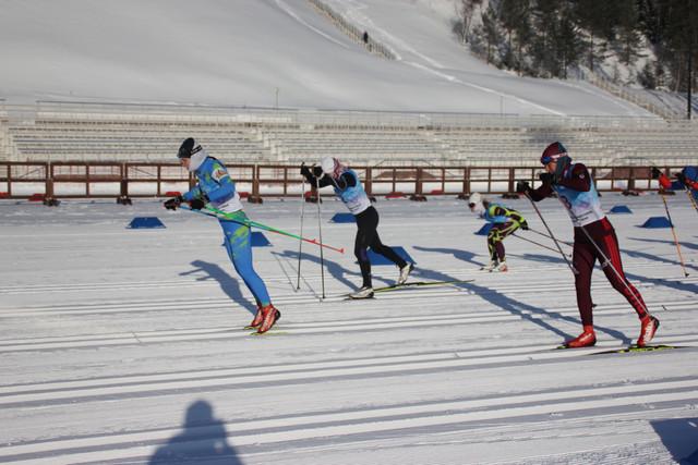 лыжные гонки 2