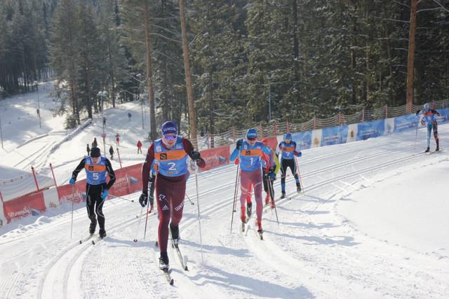 лыжные гонки 6